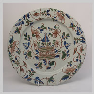 English delft charger