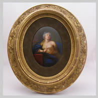 KPM porcelain plaque of Cleopatra